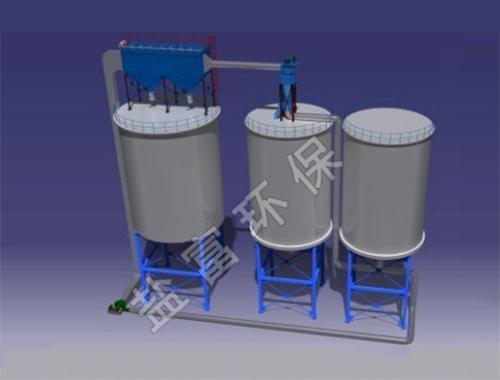 粉煤灰闭路分选(大循环)工艺流程