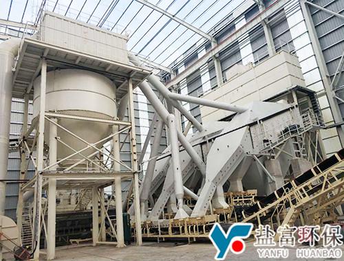 重庆涪陵砂石骨料制砂生产线现场