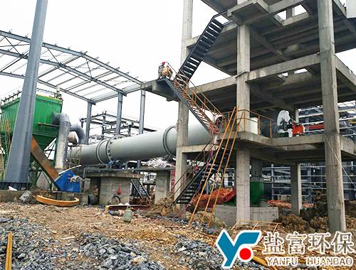 江西江特电机锂辉石烘干项目