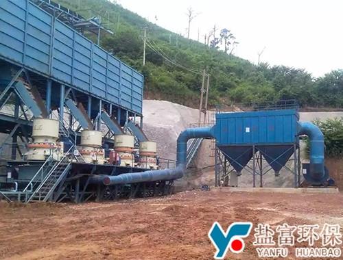 老挝南涅河制砂线除尘器
