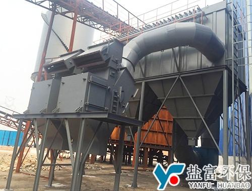 山东泰安150吨无动力分选现场