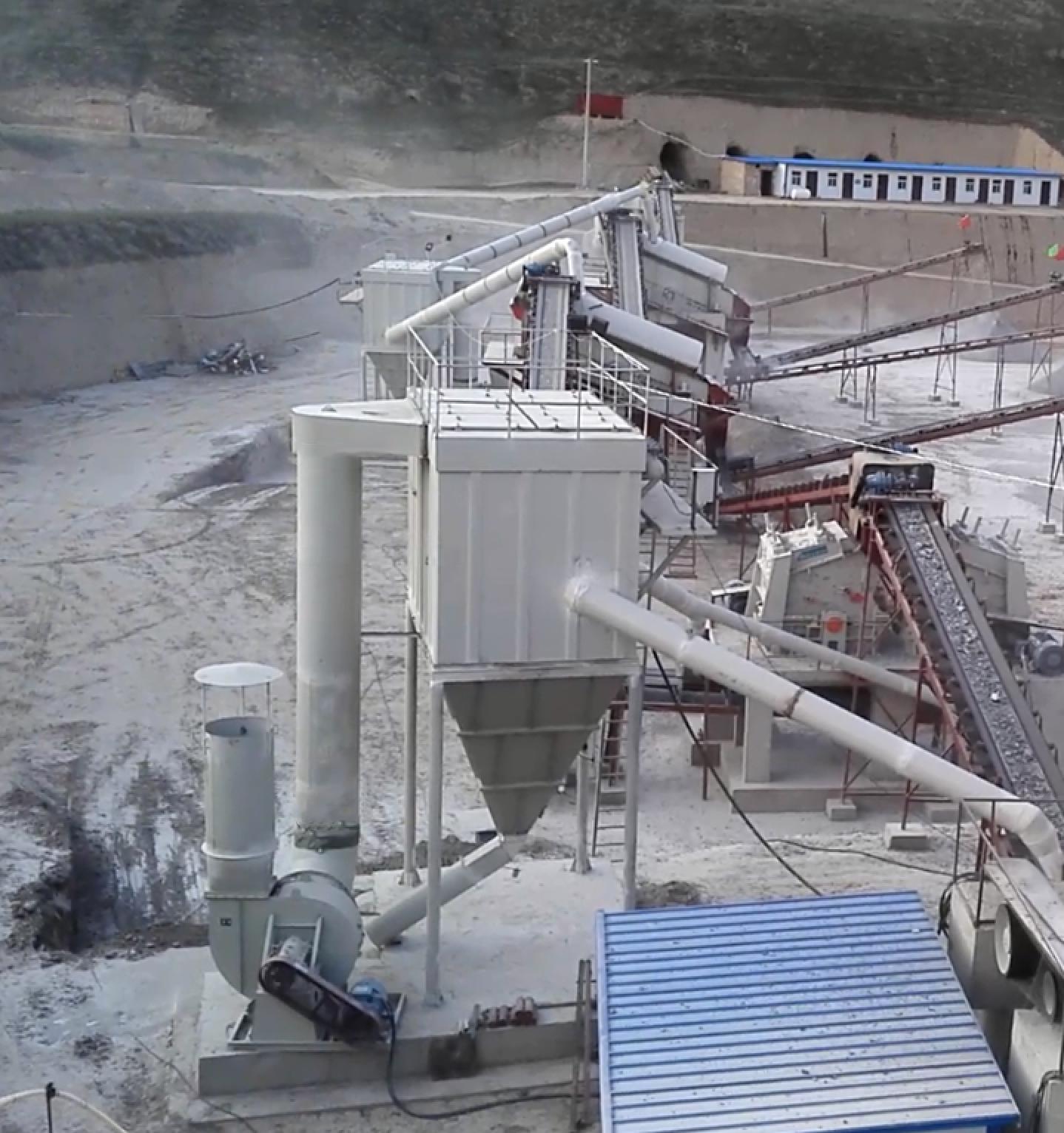 除尘器对砂石生产线的重要性